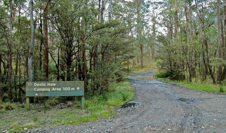 Devils Hole campground and picnic area - Victoria Tourism