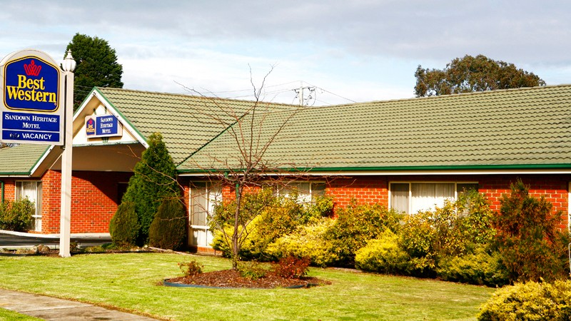BEST WESTERN Sandown Heritage Motel - Victoria Tourism