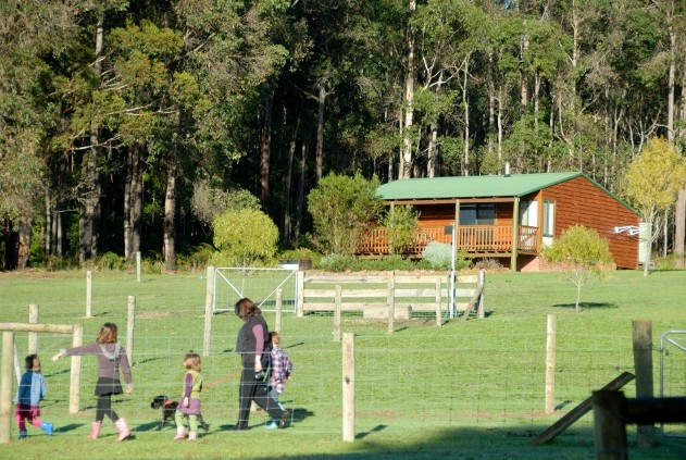 Diamond Forest Cottages Farmstay - Victoria Tourism