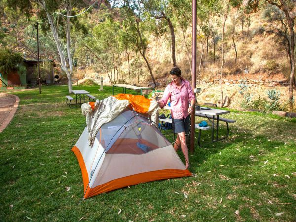 Standley Chasm Angkerle Camping - Victoria Tourism