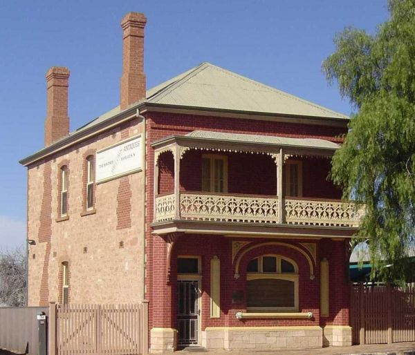 Savings Bank of South Australia - Old Quorn Branch - Victoria Tourism