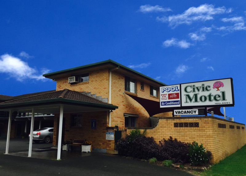 Civic Motel Grafton - Victoria Tourism