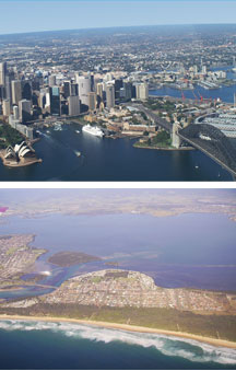 Sydney By Air - Victoria Tourism