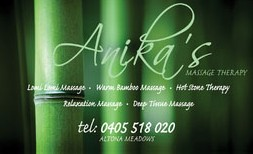 Anikas Massage Therapy - Victoria Tourism