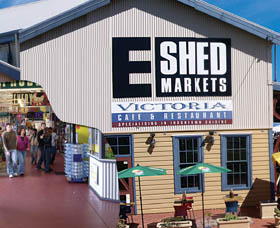 The E Shed Markets - Victoria Tourism