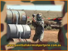 Paint Ball Skirmish Port Pirie - Victoria Tourism