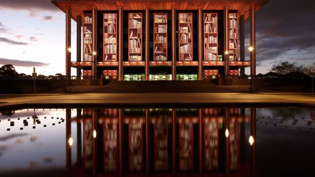 National Library of Australia - Victoria Tourism