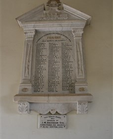 Warwick Railway Memorial Honour Board - Victoria Tourism