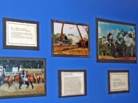 Town Hall Photographic Display - Victoria Tourism