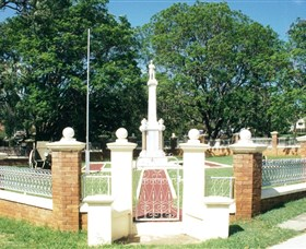 Boonah War Memorial and Memorial Park - Victoria Tourism