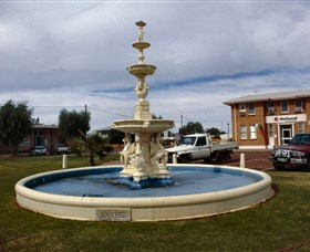 Cunnamulla War Memorial Fountain - Victoria Tourism