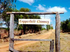 Copperfield Store and Chimney - Victoria Tourism