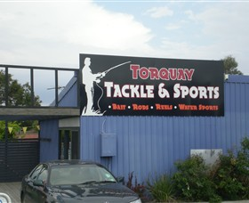 Torquay Tackle  Sports - Victoria Tourism