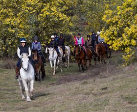 Burnelee Excursions on Horseback - Victoria Tourism