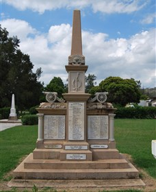 Boer War Memorial and Park Allora - Victoria Tourism