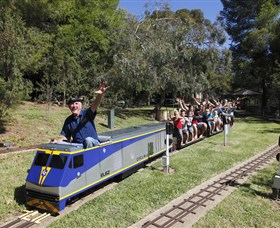 Willans Hill Miniature Railway - Victoria Tourism