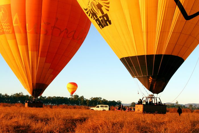 Hot Air Balloon Scenic Rim - Victoria Tourism