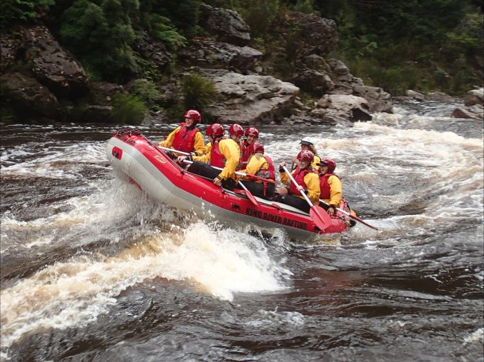 King River Rafting - Victoria Tourism