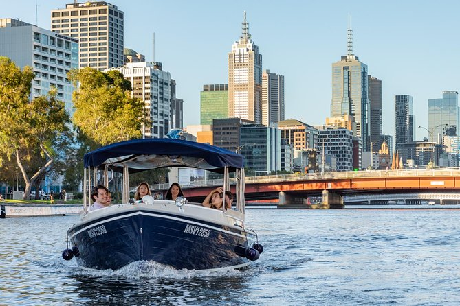 2-Hour Self-Drive Boat Hire on the Yarra River - Victoria Tourism