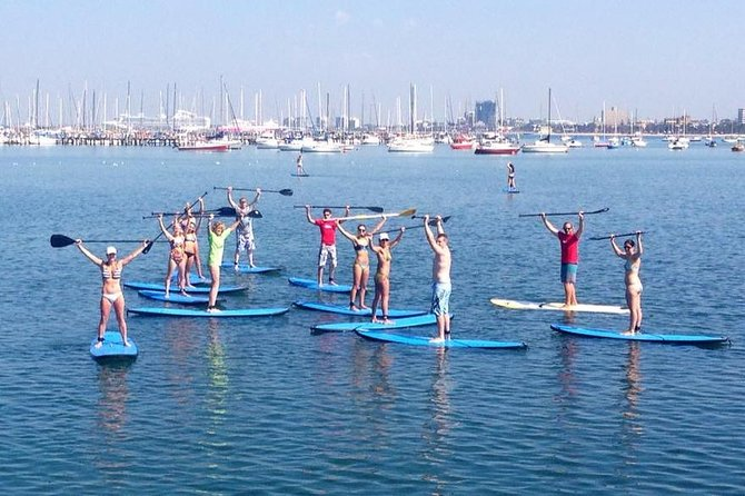St Kilda Stand-Up Paddle Board Rental - Victoria Tourism