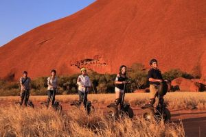 Sunset Segway Experience in Uluru from Yulara - Victoria Tourism