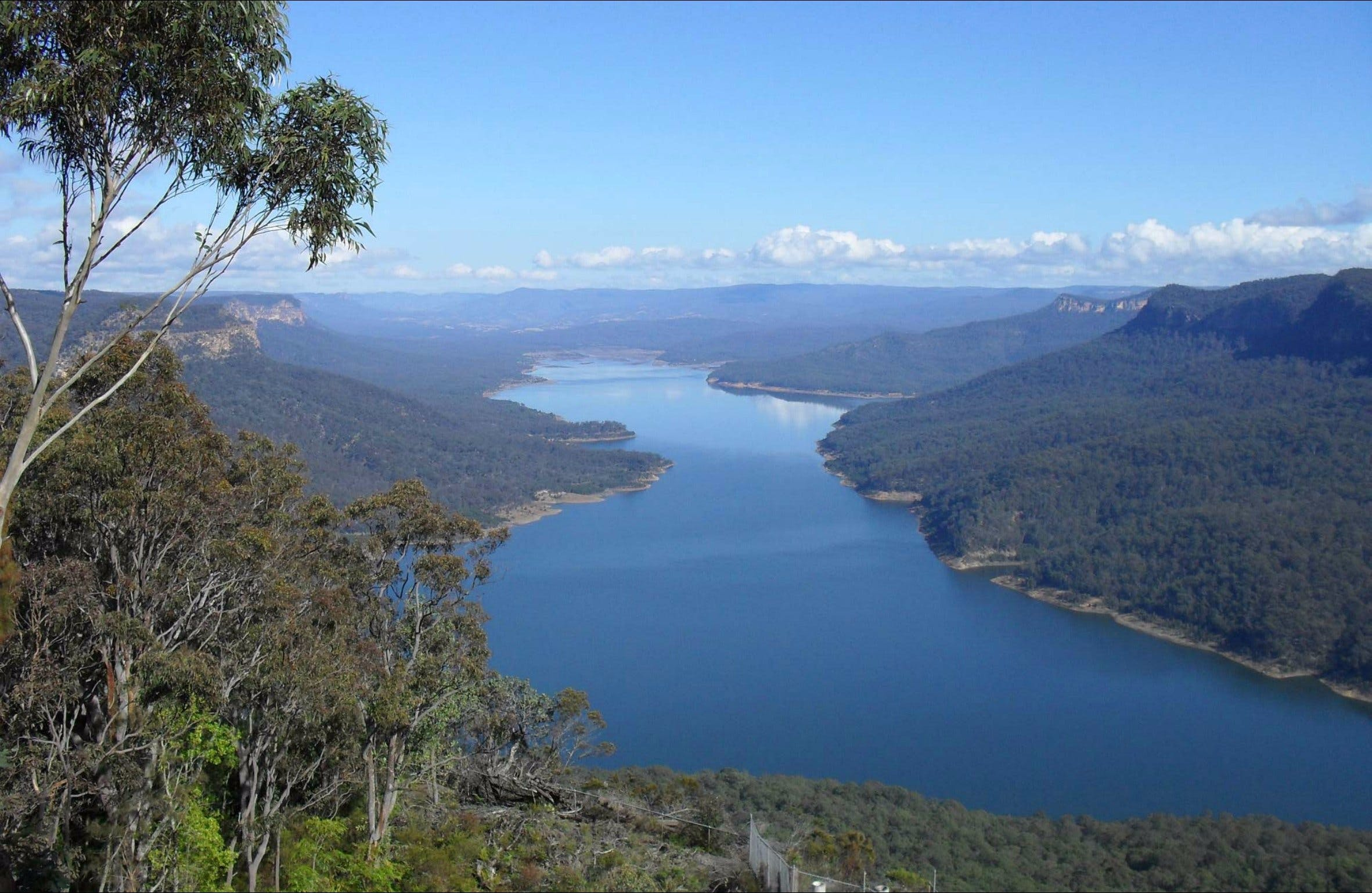 Burragorang lookout and picnic area - Victoria Tourism