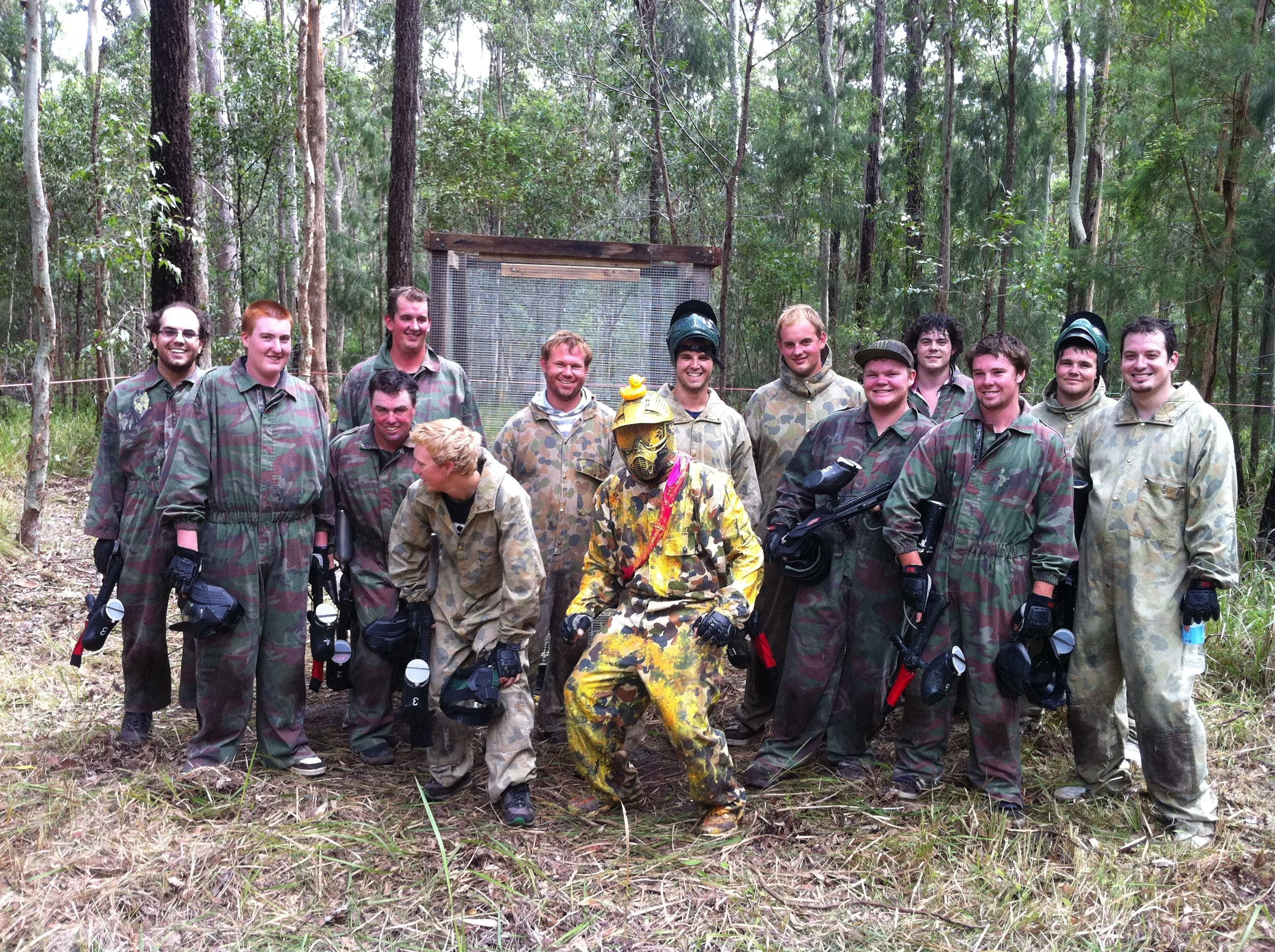 Mid North Coast Paintball - Victoria Tourism