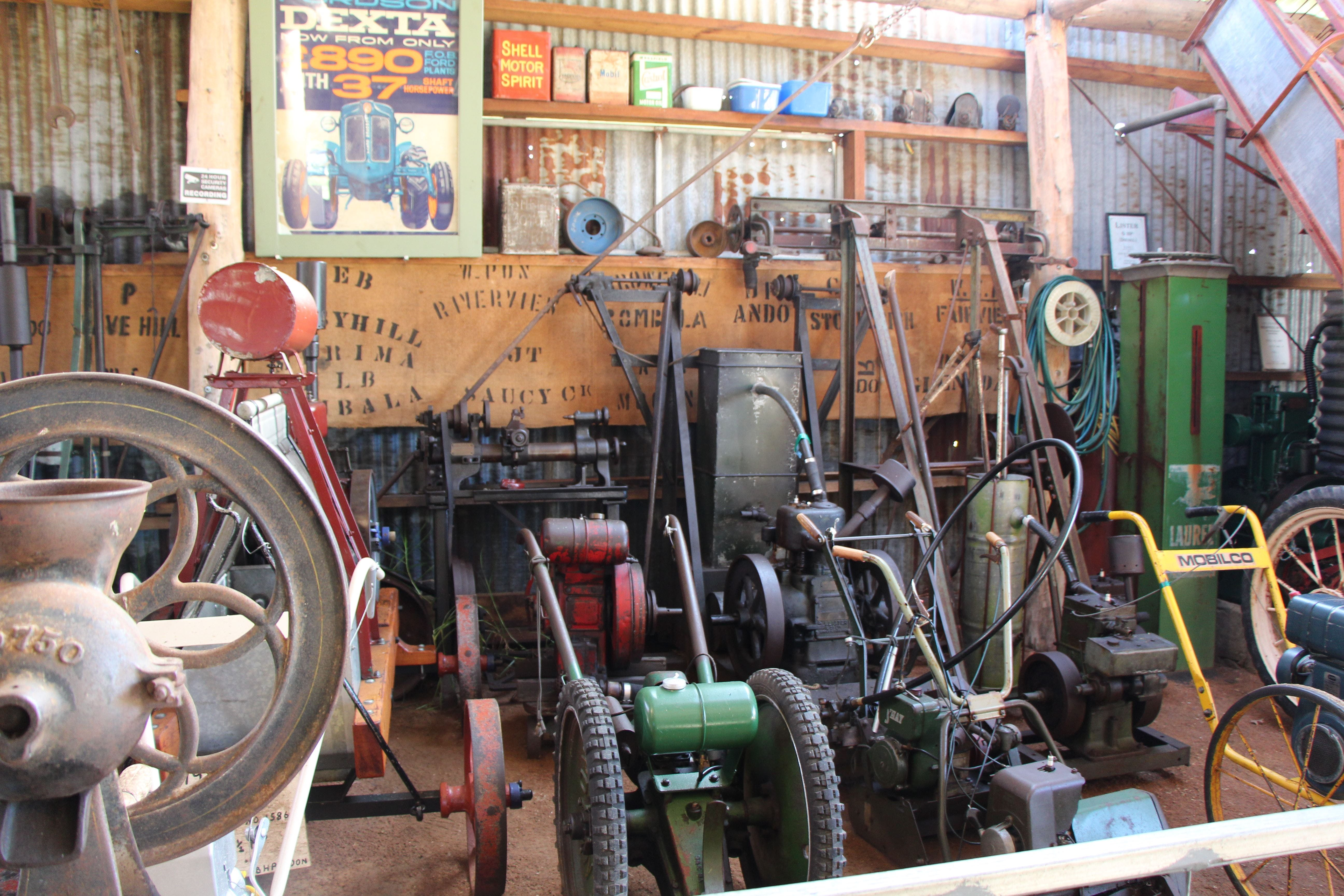 Bombala Historic Engine and Machinery Shed - Victoria Tourism