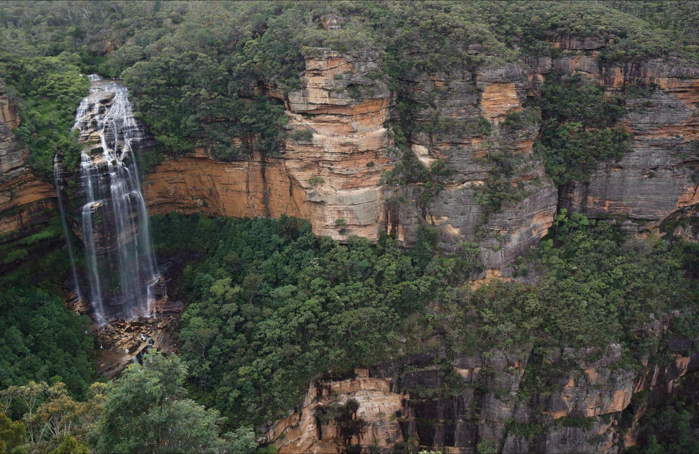 Wentworth Falls Lookout - Victoria Tourism
