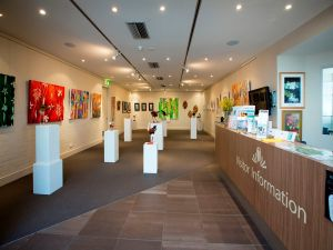Australian National Botanic Gardens Visitor Centre Gallery - Victoria Tourism