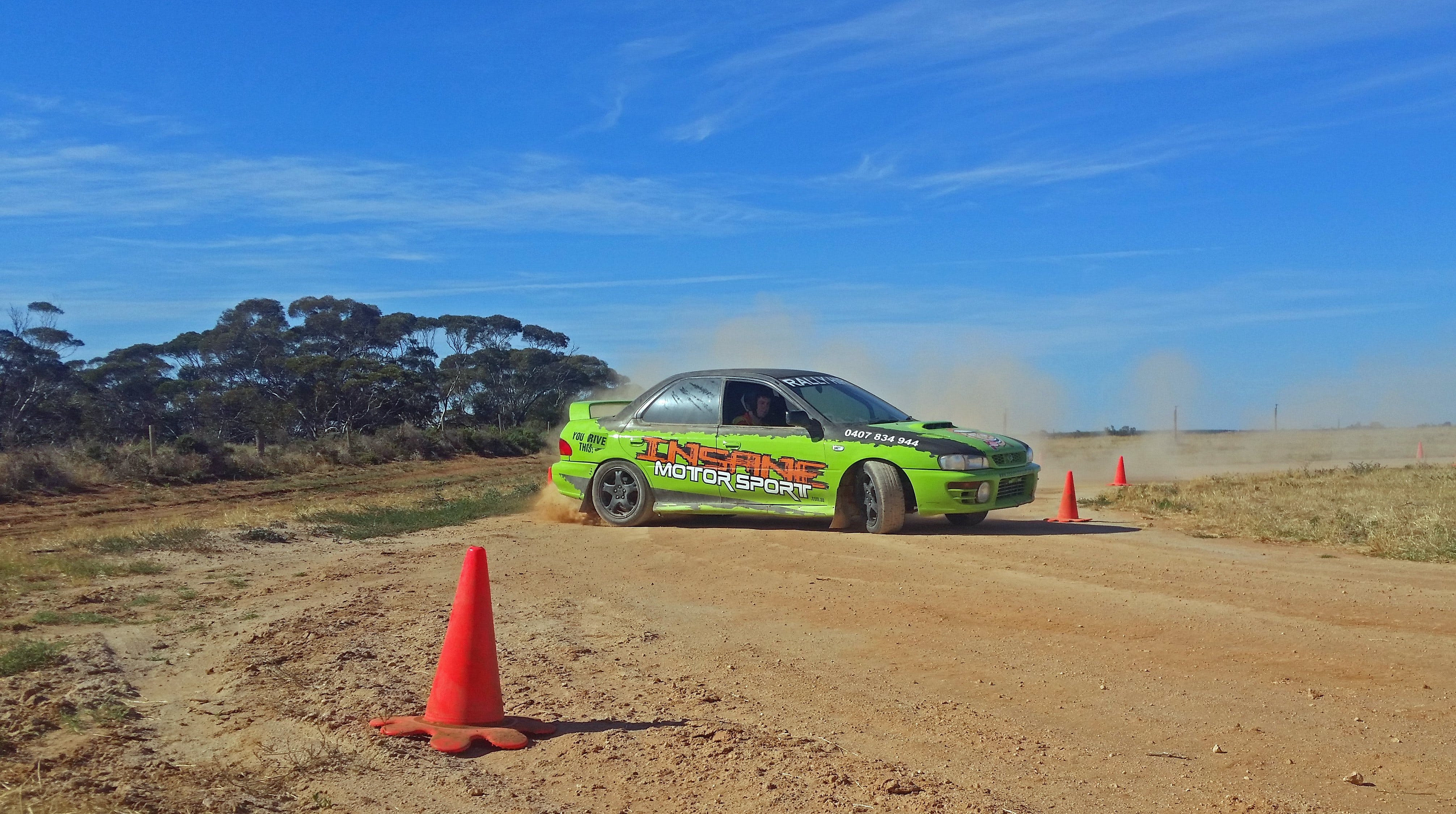 Rally Driving Loveday - Victoria Tourism