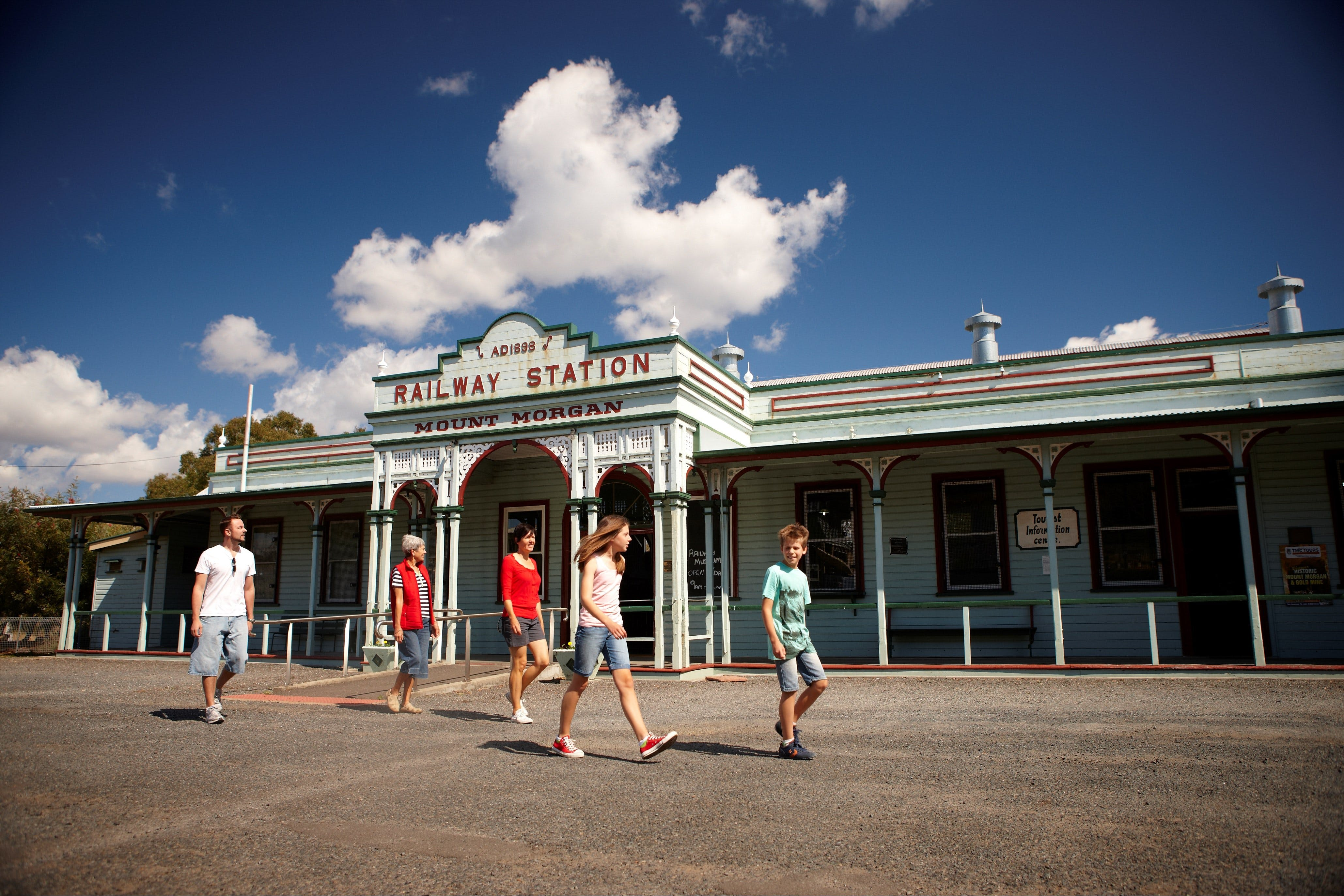 Mount Morgan Historical Railway Museum - Victoria Tourism