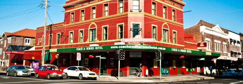 The Coach  Horses Hotel - Victoria Tourism