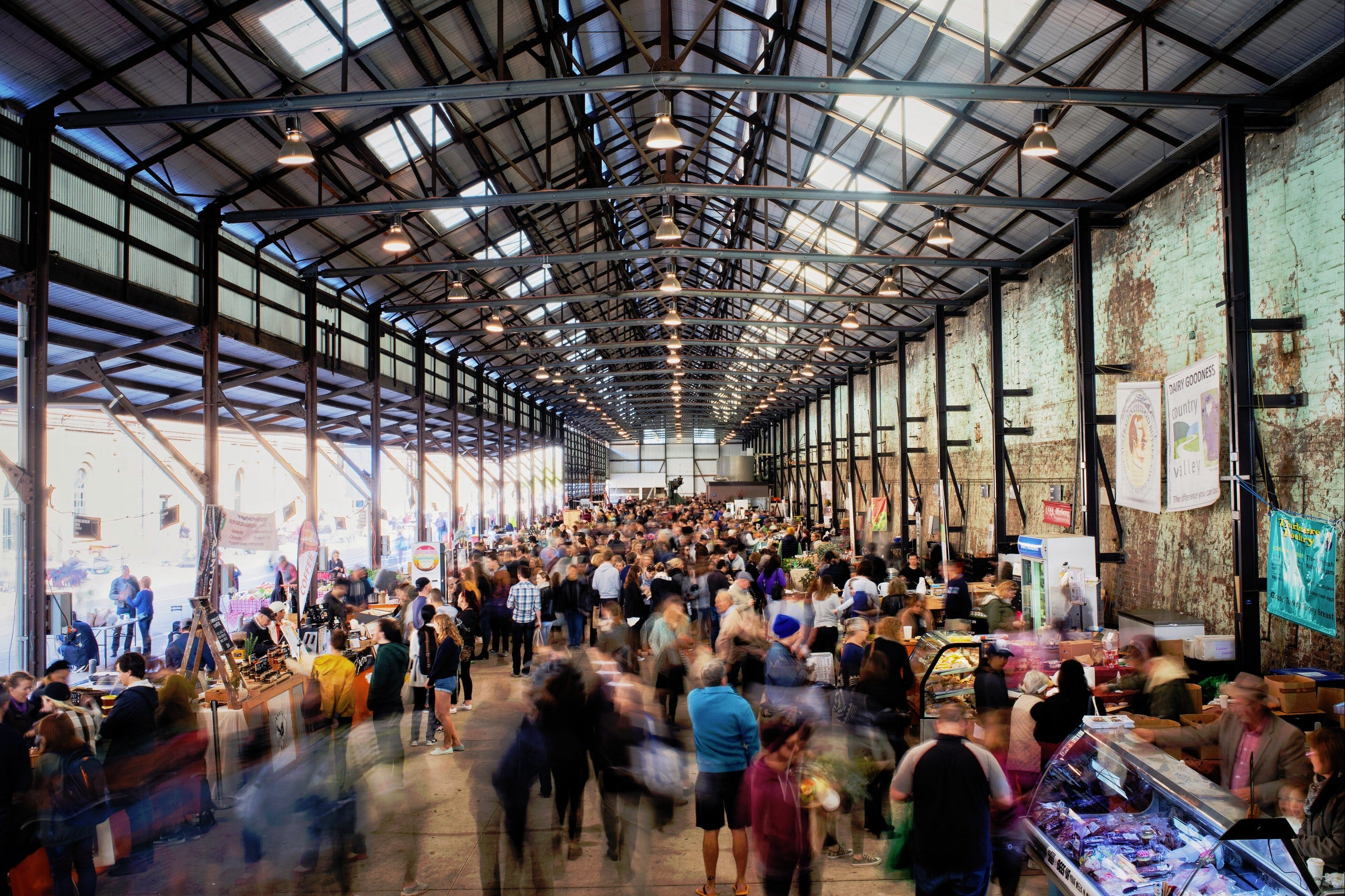 Carriageworks Farmers Market - Victoria Tourism