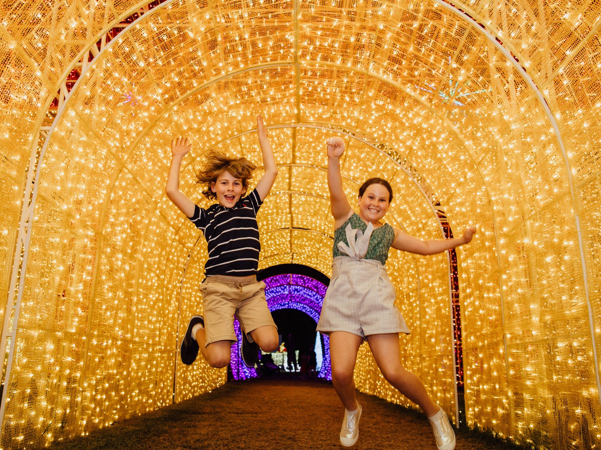 Christmas Lights Spectacular New Year's Eve at Hunter Valley Gardens - Victoria Tourism