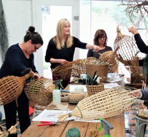 Fish Trap Lampshade Weaving - Victoria Tourism