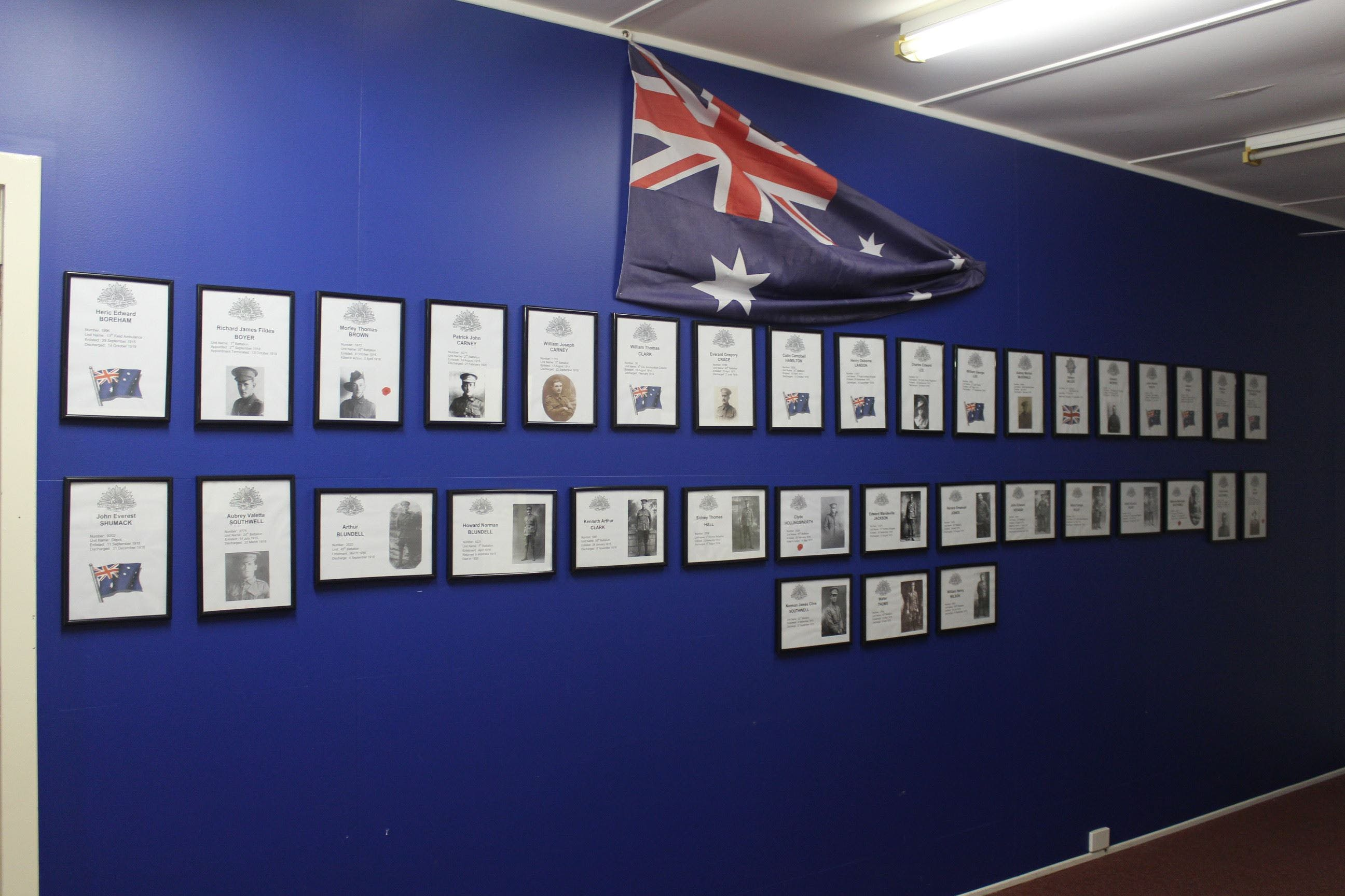 Hall WW1 Commemorative Exhibition - Victoria Tourism