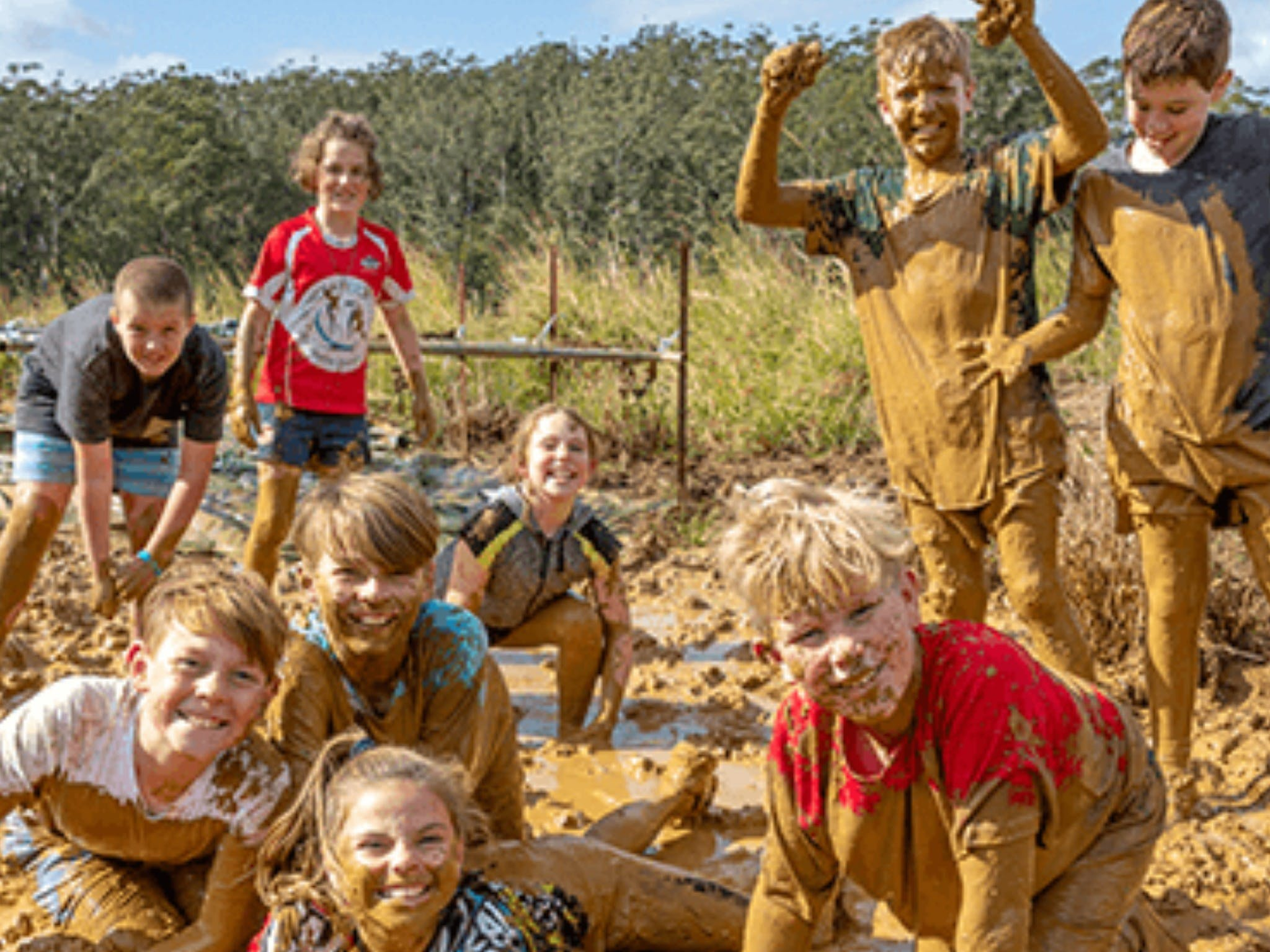 Mini Muddies Obstacle Challenge at Bunnamagoo Estate - Victoria Tourism