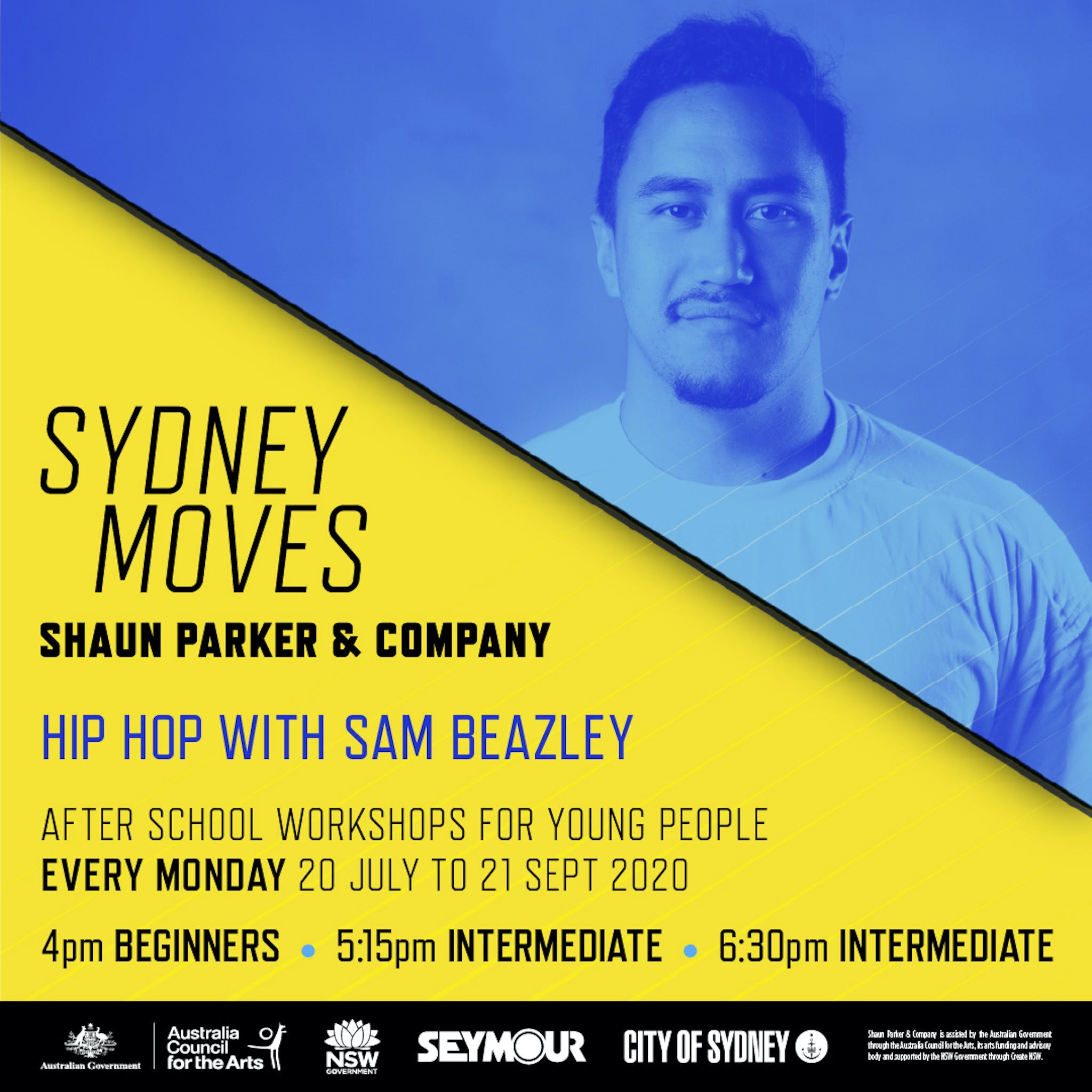 Sydney Moves - All Ages Intermediate Hip Hop with Sam Beazley - Victoria Tourism