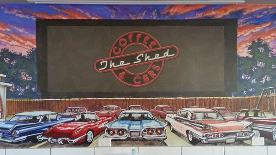 The Shed Coffee And Cars - Victoria Tourism