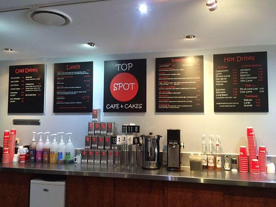 Top Spot Cafe - Victoria Tourism