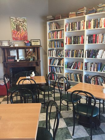 Chrissie's Book Lounge  Cafe - Victoria Tourism