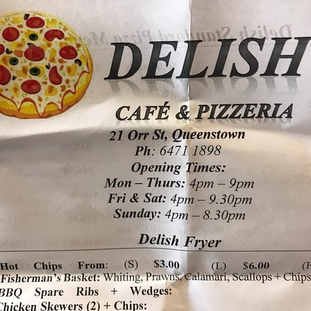 Delish Pizza - Victoria Tourism